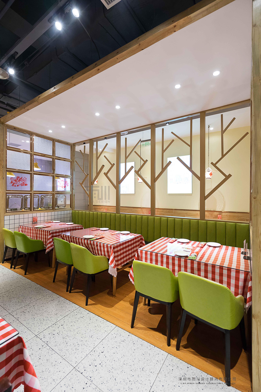 姥姥的春餅(萬和城)休閑餐(can)廳設計效果圖